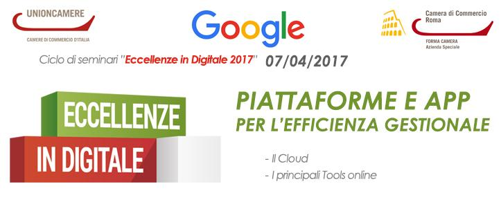 Eccellenze in Digitale 2017