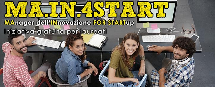 MA.IN.4START – MAnager dell'INnovazione FOR STARTUP – 4ST01.17