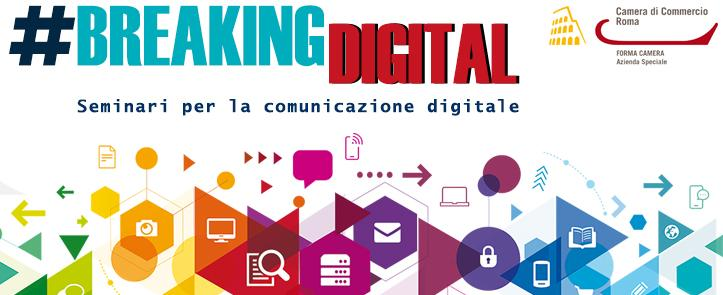 BREAKING DIGITAL – Seminari per la comunicazione digitale
