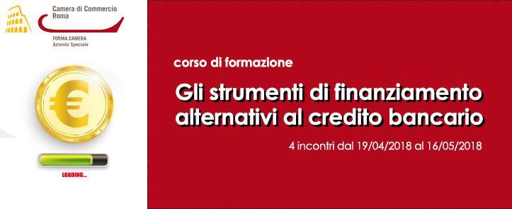 Gli strumenti di finanziamento alternativi al credito bancario – SFA01.18