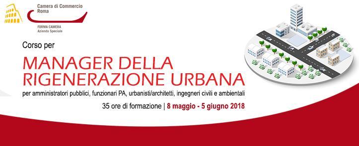 Corso per Manager della Rigenerazione Urbana – MRU02.18