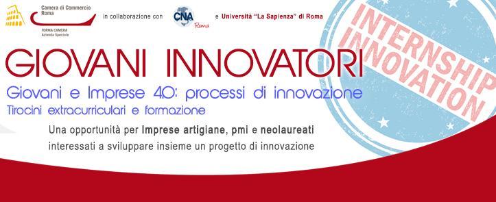 """Progetto """"Giovani Innovatori"""" – Giovani e Imprese 4.0: processi di innovazione"""
