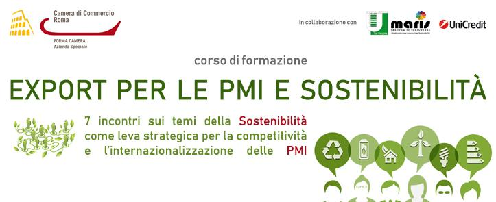 Export per le PMI e Sostenibilità – EXPS01.18