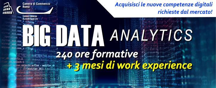 Big Data Analytics – Progettazione, sviluppo e gestione dei sistemi informatici – BDA01.18