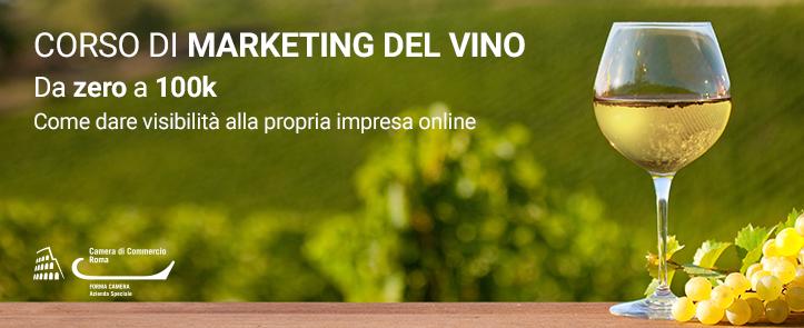Marketing del Vino – da Zero a 100k