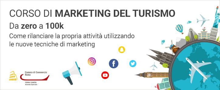 Marketing del Turismo – da zero a 100k (MKT01.19)