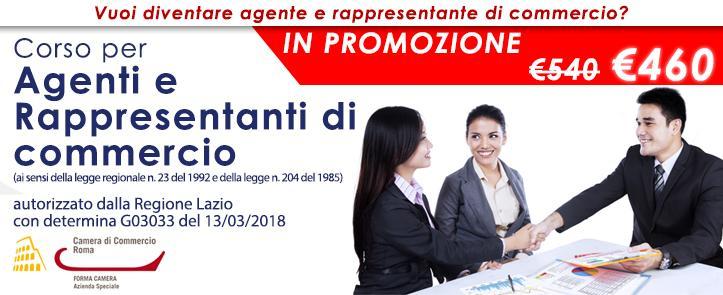 Corso Agenti e Rappresentanti di Commercio – ARC01.19