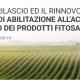 Corsi per il rilascio ed il rinnovo del certificato di abilitazione all'acquisto e all'utilizzo dei prodotti fitosanitari ai sensi del D.lgs 150/2012 – FIT01.20