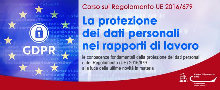 Protezione dei dati personali nei rapporti di lavoro (GDPR01.20)