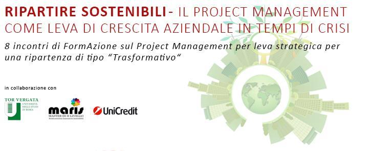 Ripartire sostenibili – Il project management come leva di crescita aziendale in tempi di crisi (RS01.21)