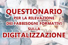 Questionario sulla digitalizzazione